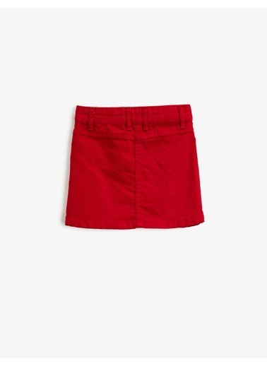 Koton Skırts Kırmızı